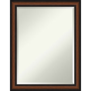 Yale Walnut 21W X 27H-Inch Bathroom Vanity Wall Mirror