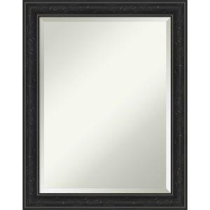 Shipwreck Black 22W X 28H-Inch Bathroom Vanity Wall Mirror