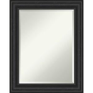 Shipwreck Black 23W X 29H-Inch Bathroom Vanity Wall Mirror