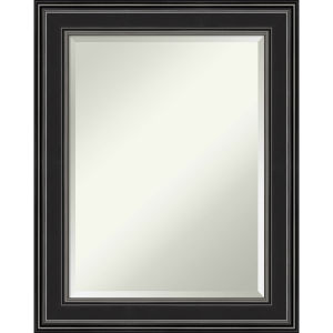 Ridge Black 24W X 30H-Inch Bathroom Vanity Wall Mirror
