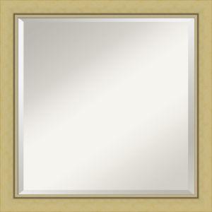 Landon Gold 23W X 23H-Inch Bathroom Vanity Wall Mirror