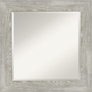 Dove Gray 26W X 26H-Inch Bathroom Vanity Wall Mirror