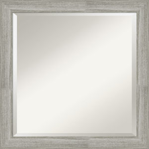 Dove Gray 24W X 24H-Inch Bathroom Vanity Wall Mirror