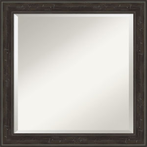 Shipwreck Gray 24W X 24H-Inch Bathroom Vanity Wall Mirror