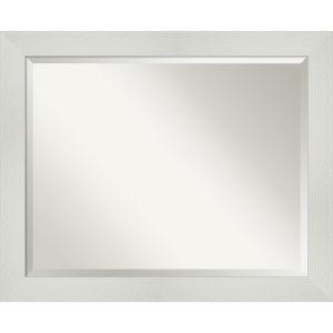 Mosaic White 32W X 26H-Inch Bathroom Vanity Wall Mirror