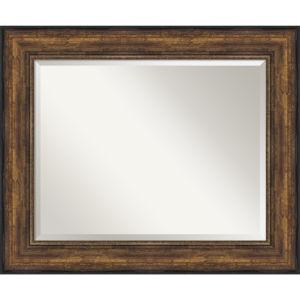 Bronze 36W X 30H-Inch Bathroom Vanity Wall Mirror