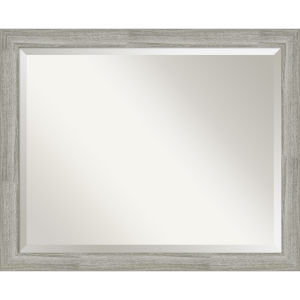 Dove Gray 32W X 26H-Inch Bathroom Vanity Wall Mirror