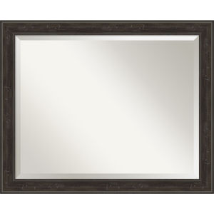 Shipwreck Gray 32W X 26H-Inch Bathroom Vanity Wall Mirror