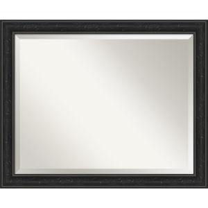 Shipwreck Black 32W X 26H-Inch Bathroom Vanity Wall Mirror