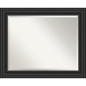 Shipwreck Black 33W X 27H-Inch Bathroom Vanity Wall Mirror