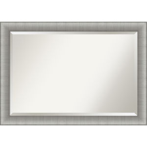 Elegant Pewter 41W X 29H-Inch Bathroom Vanity Wall Mirror