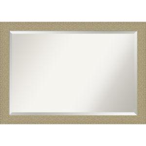 Mosaic Gold 40W X 28H-Inch Bathroom Vanity Wall Mirror