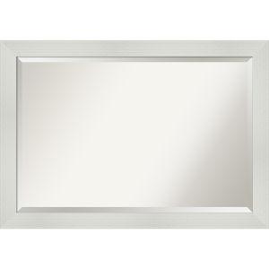 Mosaic White 40W X 28H-Inch Bathroom Vanity Wall Mirror