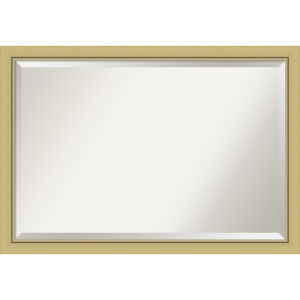 Landon Gold 39W X 27H-Inch Bathroom Vanity Wall Mirror