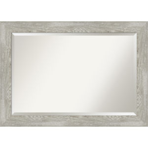 Dove Gray 42W X 30H-Inch Bathroom Vanity Wall Mirror