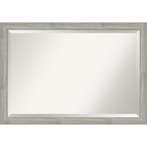 Dove Gray 40W X 28H-Inch Bathroom Vanity Wall Mirror