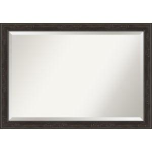 Shipwreck Gray 40W X 28H-Inch Bathroom Vanity Wall Mirror