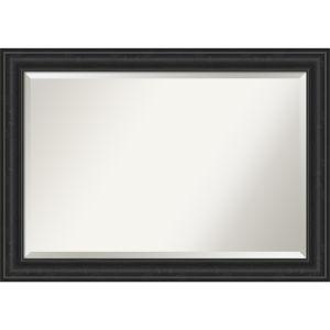 Shipwreck Black 41W X 29H-Inch Bathroom Vanity Wall Mirror