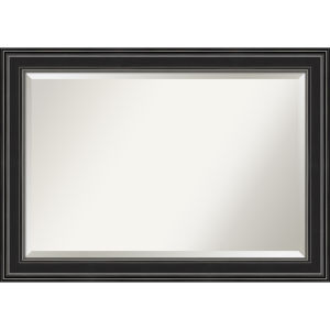 Ridge Black 42W X 30H-Inch Bathroom Vanity Wall Mirror