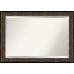 Ridge Bronze 42W X 30H-Inch Bathroom Vanity Wall Mirror