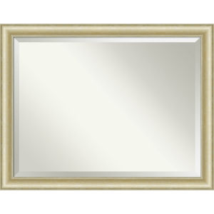Gold 45W X 35H-Inch Bathroom Vanity Wall Mirror