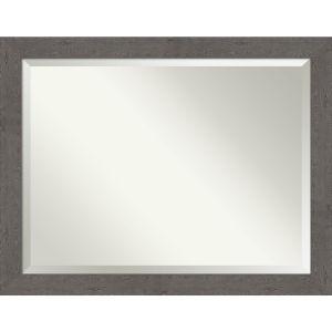 Gray 45W X 35H-Inch Bathroom Vanity Wall Mirror