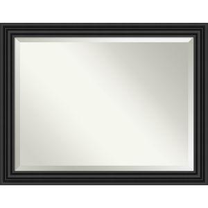 Colonial Black 46W X 36H-Inch Bathroom Vanity Wall Mirror