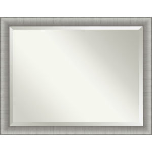 Elegant Pewter 45W X 35H-Inch Bathroom Vanity Wall Mirror
