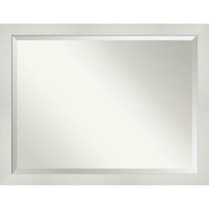 Mosaic White 44W X 34H-Inch Bathroom Vanity Wall Mirror