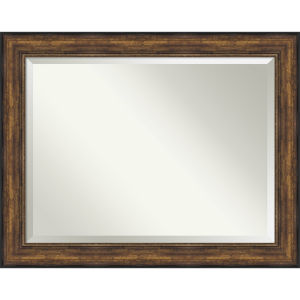 Bronze 48W X 38H-Inch Bathroom Vanity Wall Mirror