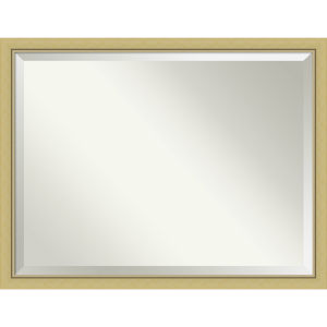 Landon Gold 43W X 33H-Inch Bathroom Vanity Wall Mirror
