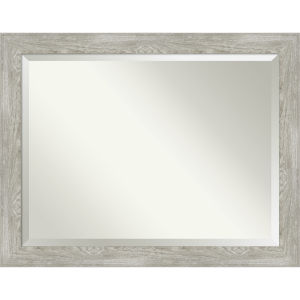 Dove Gray 46W X 36H-Inch Bathroom Vanity Wall Mirror