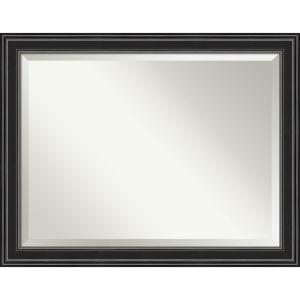 Ridge Black 46W X 36H-Inch Bathroom Vanity Wall Mirror