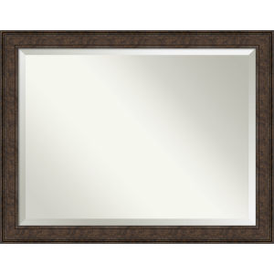 Ridge Bronze 46W X 36H-Inch Bathroom Vanity Wall Mirror