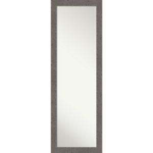 Gray 17W X 51H-Inch Full Length Mirror