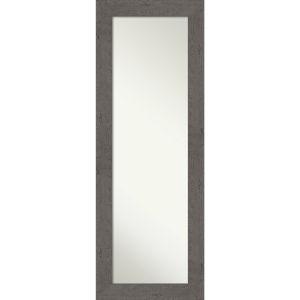 Gray 19W X 53H-Inch Full Length Mirror