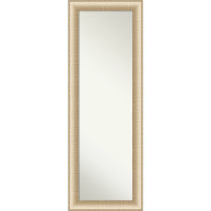 Elegant Brushed Honey 19W X 53H-Inch Full Length Mirror