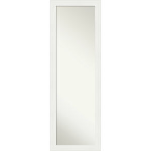 White 17W X 51H-Inch Full Length Mirror