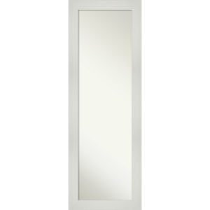 Mosaic White 18W X 52H-Inch Full Length Mirror