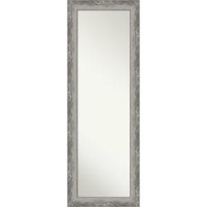 Waveline Silver 18W X 52H-Inch Full Length Mirror