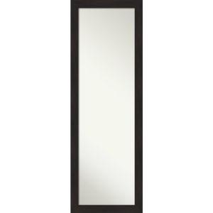 Espresso 18W X 52H-Inch Full Length Mirror