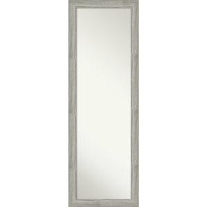 Dove Gray 18W X 52H-Inch Full Length Mirror