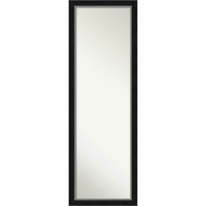 Eva Black and Silver 17W X 51H-Inch Full Length Mirror