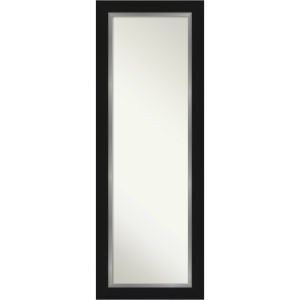 Eva Black and Silver 19W X 53H-Inch Full Length Mirror