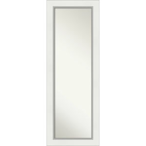 Eva White and Silver 19W X 53H-Inch Full Length Mirror