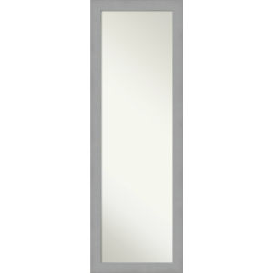 Brushed Nickel 18W X 52H-Inch Full Length Mirror