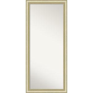 Gold 29W X 65H-Inch Full Length Floor Leaner Mirror