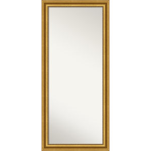 Parlor Gold 30W X 66H-Inch Full Length Floor Leaner Mirror