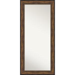Bronze 32W X 68H-Inch Full Length Floor Leaner Mirror