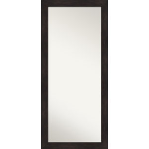 Espresso 29W X 65H-Inch Full Length Floor Leaner Mirror